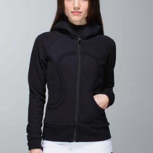 Lululemon Scuba Hoodie Zip up Black Jacket